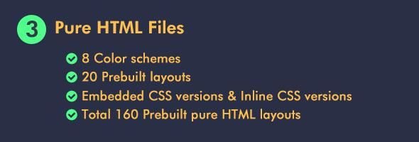 Plainhtml-email-template-theme-builder